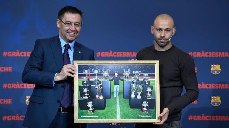 La espinita que se le ha quedado clavada a Mascherano de su paso por el Barcelona