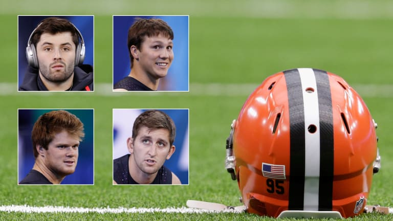 NFL Draft Rumors Start in Cleveland, Where No. 1 Overall Pick is No Sure Thing