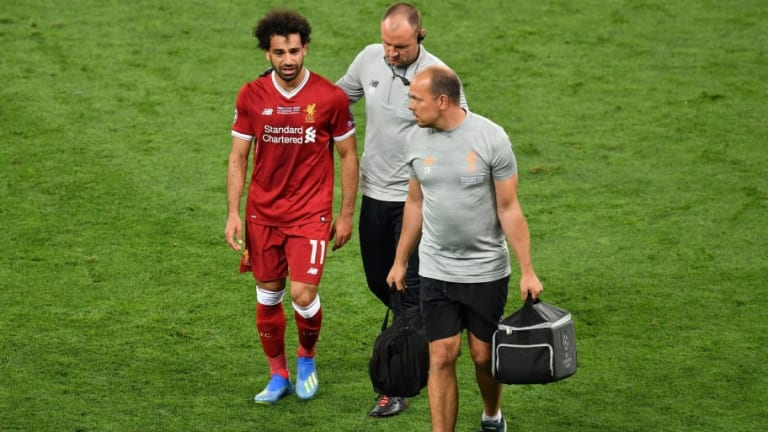 REVEALED: How Mohamed Salah Reacted in Liverpool Dressing Room After UCL Final Injury