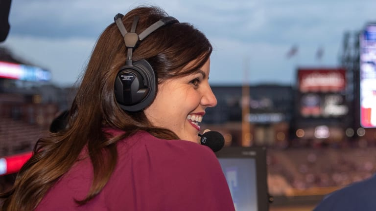 Meet the Rockies' Barrier-Breaking Play-by-Play Announcer: Jenny Cavnar