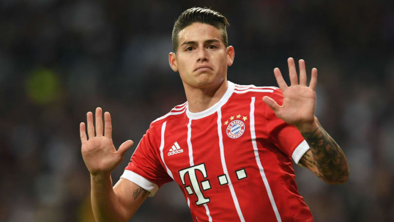 James Rodriguez to Honour Bayern Munich Loan Deal as He Delays Real Madrid Return Until 2019