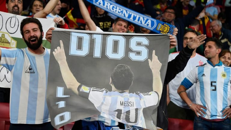 Spain & Atleti Front Man Diego Costa Insists Argentina Fans Need to 'Be Grateful' for Lionel Messi