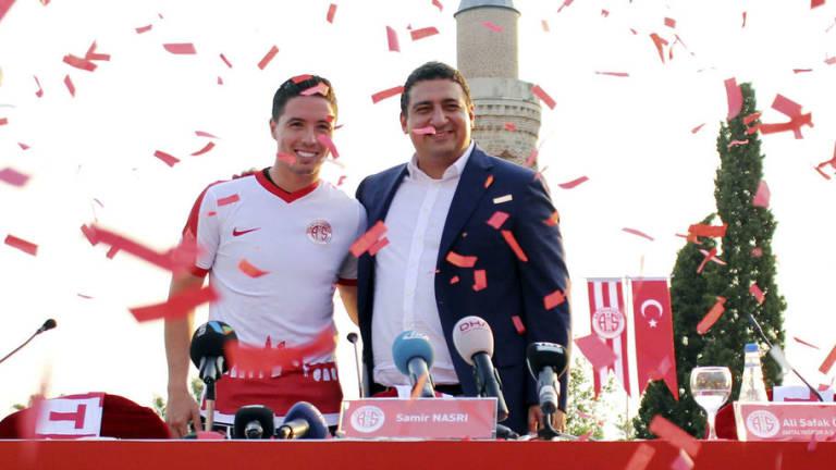 Former Arsenal & Man City Star Samir Nasri Has Antalyaspor Contract Terminated