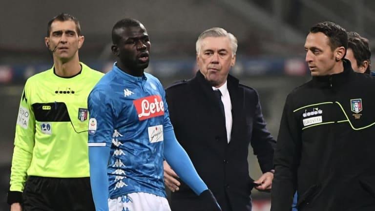 Vergüenza | Koulibaly recibió cánticos racistas en el partido entre el Nápoles y el Inter de Milan
