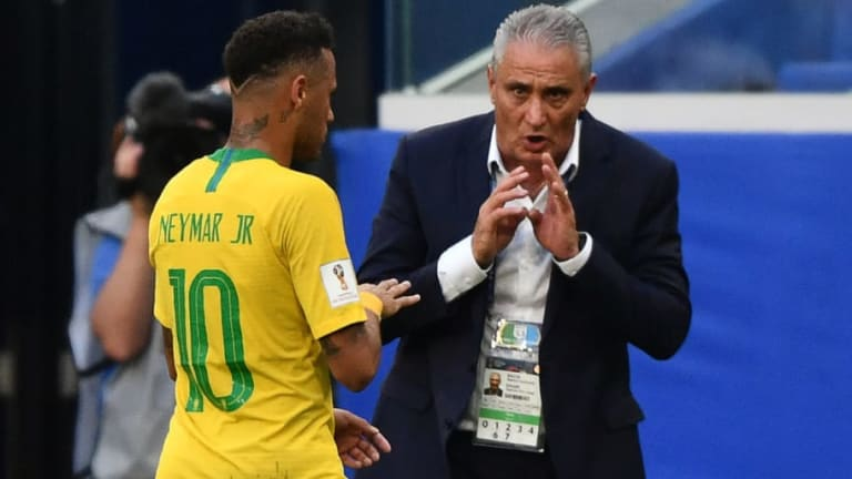 Brazil Manager Defends Match-Winner Neymar After Coming Under Fire for Theatrics in Mexico Win