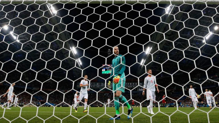 Spain Fans Want David De Gea Axed Following Calamitous Error Against Portugal