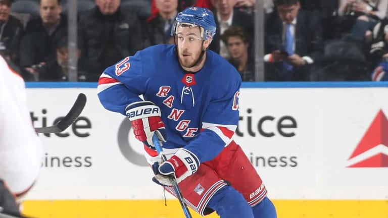 Rangers Agree to One-Year Deal With Forward Kevin Hayes
