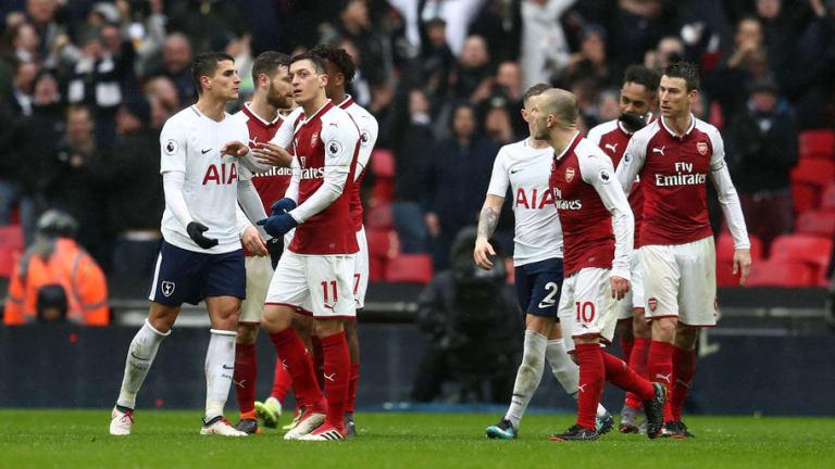 Tottenham Winger Erik Lamela Sparks North London Derby Brawl After Firing Insult at Jack Wilshere