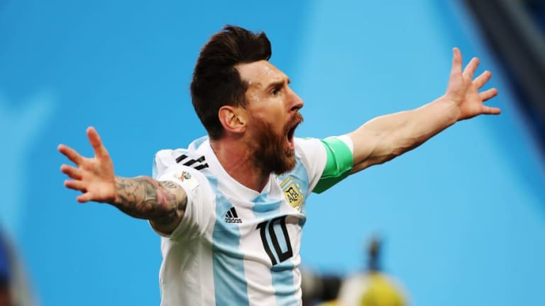 Messi Reveals What He Told His Teammates at Half Time to Inspire Argentina to Victory Over Nigeria