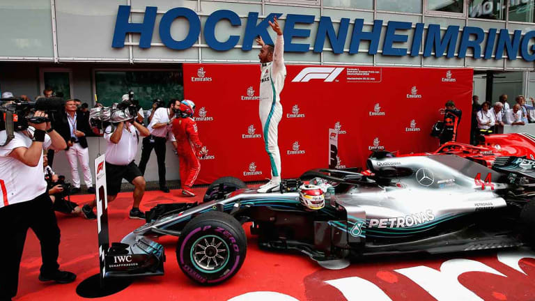 Resilient F1 Champion Lewis Hamilton Revels in Adversity