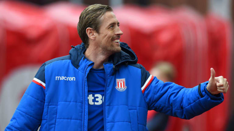 Stoke Star Peter Crouch Rakes in Retweets as He 'Equals' Mohamed Salah Goal Record