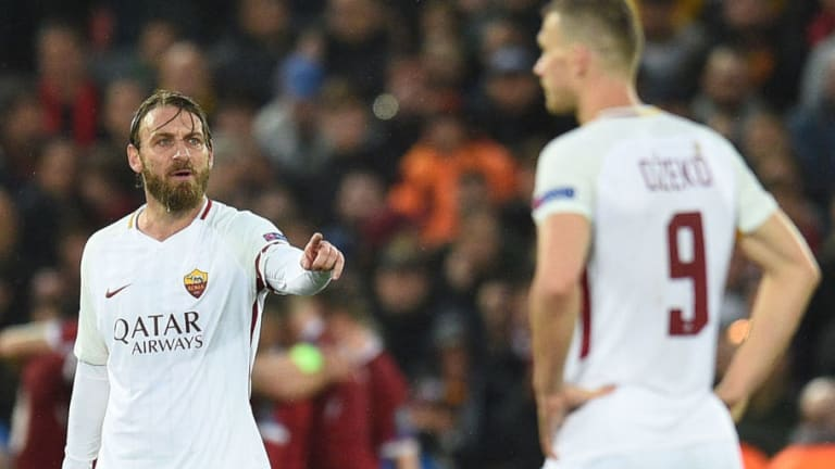 Daniele De Rossi Admits That AS Roma Couldn't Deal With Liverpool's 'Long Ball' Tactics