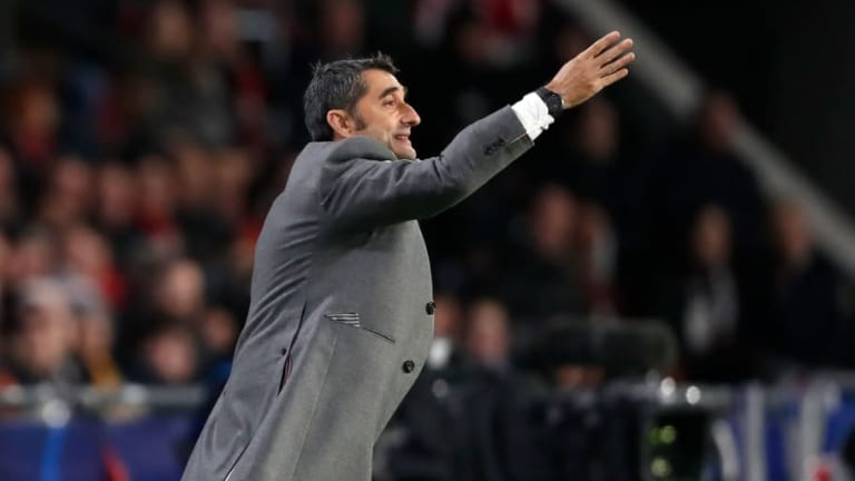 Barcelona Manager Ernesto Valverde Admits His Team Allowed PSV Eindhoven Too Many Chances