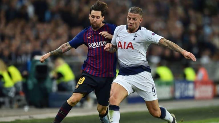El 'troleo' de Alderweireld a Messi tras el gol de un compañero