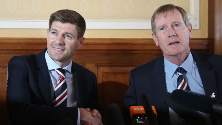 It Was the Best of Times, it Was the Blurst of Times: The Diary of Rangers Manager Steven Gerrard