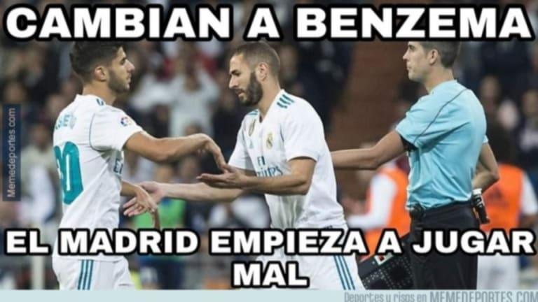 Los mejores 'memes' del gol de Bale, la sequía de Benzema, la destitución de Montella y más