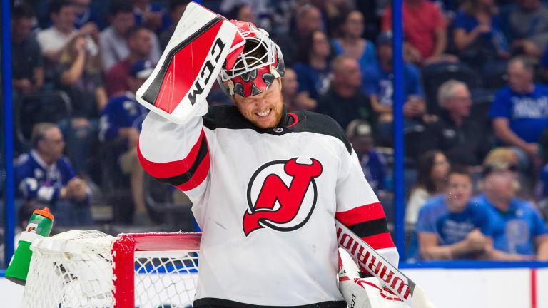 The Devils' Options Are Limited for Struggling Goaltender Cory Schneider