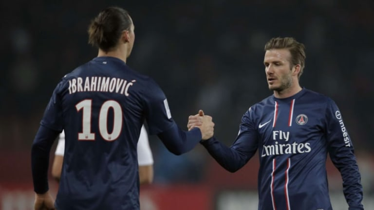 La apuesta entre Zlatan y David Beckham antes del partido entre Suecia e Inglaterra