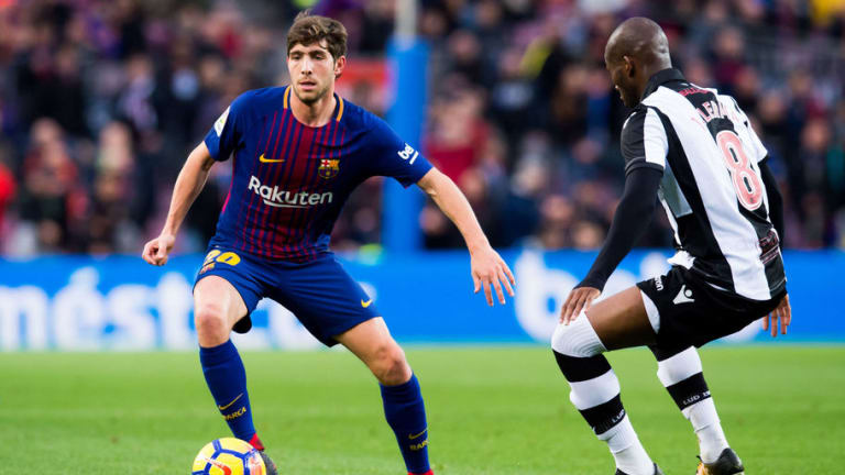 Sergi Roberto Reveals He Had Offers Elsewhere Before Signing New Barcelona Contract