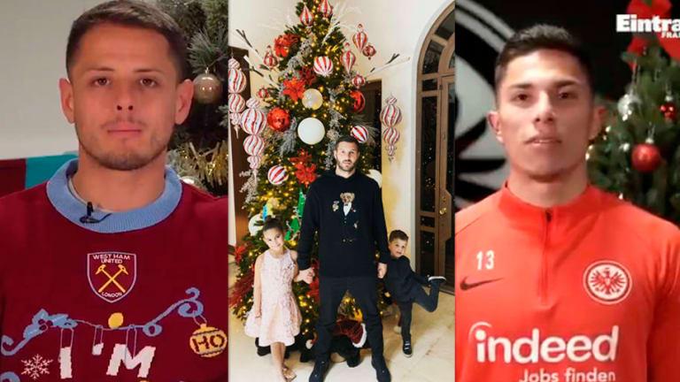 Los mensajes navideños de los futbolistas en sus redes sociales