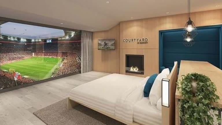 INCREÍBLE | El grande de Europa que tendrá habitaciones de hotel con vistas a su estadio