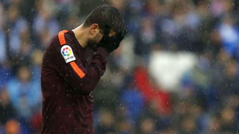El 1x1 de los jugadores blaugranas en el empate a uno entre Espanyol y Barça