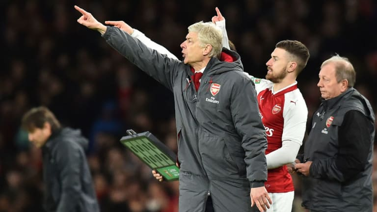 Arsene Wenger Admits Arsenal Suffered From Defensive Mistakes Despite Winning Semi-Final