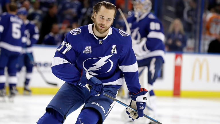 Lightning Defenseman Victor Hedman Out 3-to-6 Weeks With Lower-Body Injury