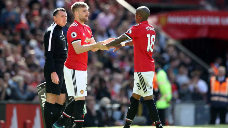 Luke Shaw to Stay & Fight for Man Utd First Team Spot Despite Lack of Game Time Under Jose Mourinho