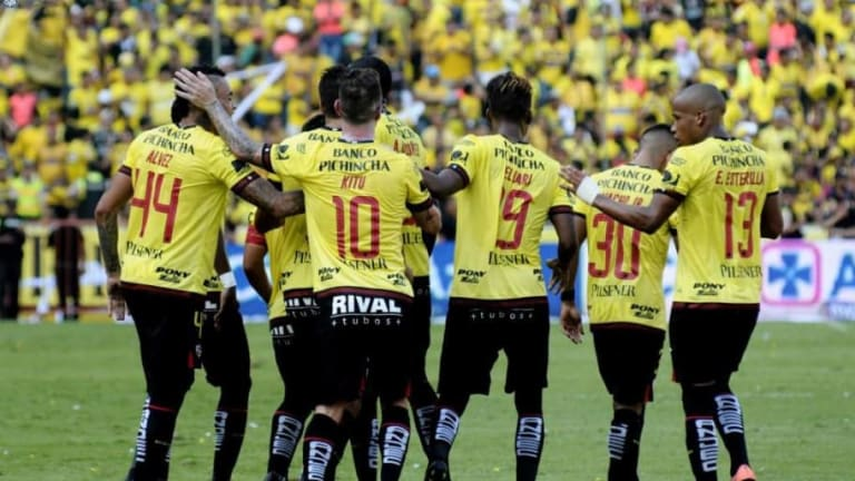CON NOVEDAD | El once titular de Barcelona SC para enfrentar a Deportivo Cuenca
