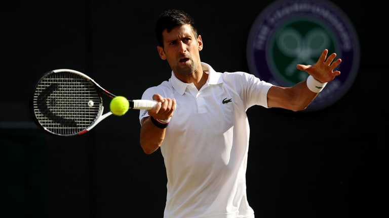 Novak Djokovic Says He Had 'Medical Intervention' on Right Elbow