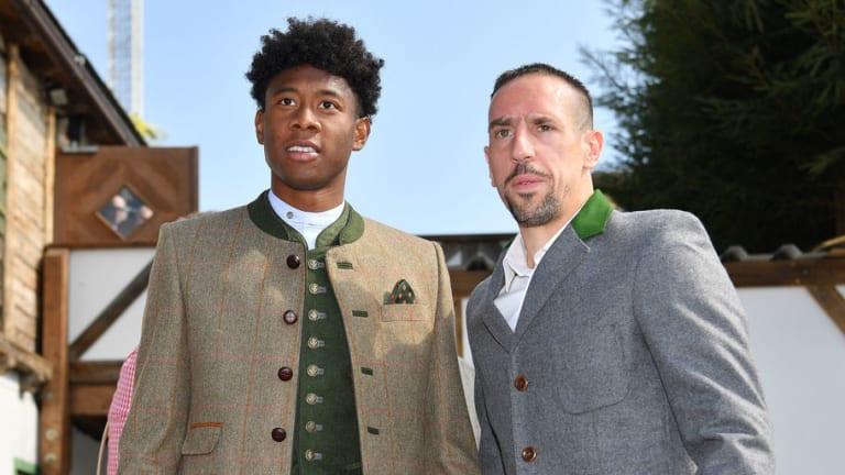 David Alaba Lifts Lid on Friendship With Bayern Teammate & 'Role Model' Franck Ribery