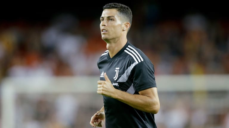WATCH: Ronaldo Gets Red Card In Juventus Champions League Debut