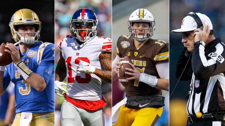 On Draft QBs, Trade Rumors and a New Rule That Might Change Football Forever