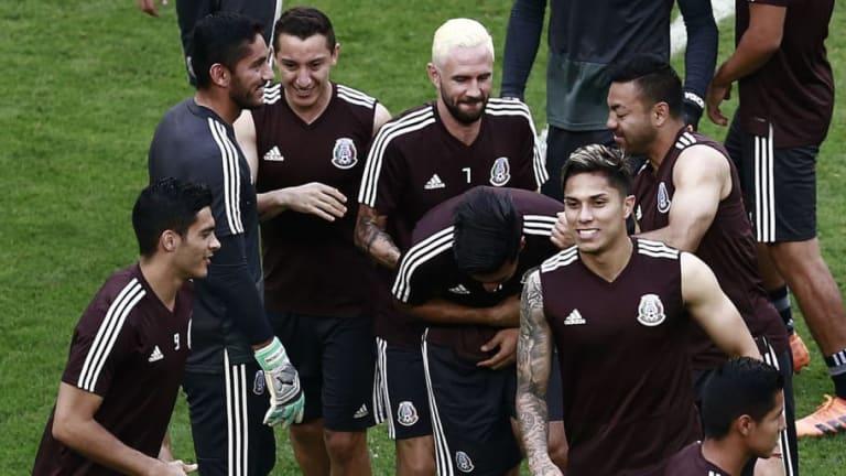GENTE DE CASA | Así aprovecharon los jugadores del TRI a su familia previo al duelo ante Brasil