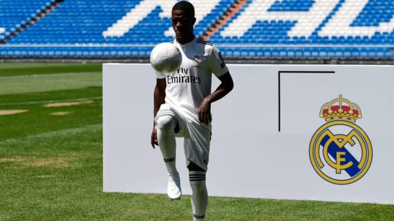 El motivo por el que Real Madrid no inscribió a Vinicius en el primer equipo