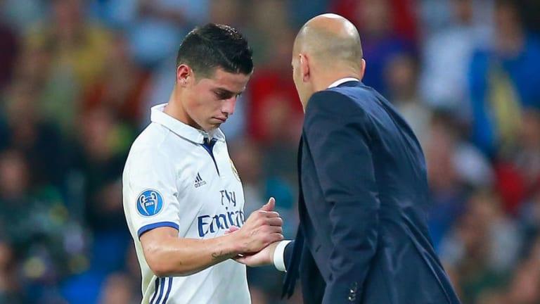 DESVELADO | La razón por la que Zidane dejó a James salir del Real Madrid