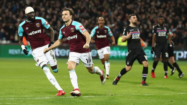 West Ham 1-1 Crystal Palace: Mark Noble Earns Hammers a Point as Joao Mario Debuts in Draw