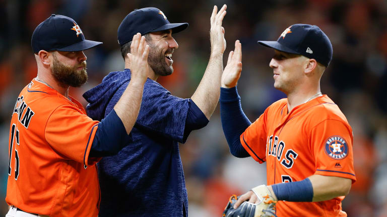 Astros Clinch Playoff Berth With Friday Win Over Angels