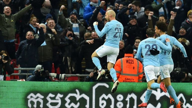 Arsenal 0-3 Manchester City: Trio of Blues Legends Score as City Ease to Carabao Cup Glory