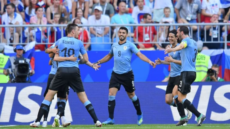 Uruguay 3-0 Russia: World Cup Hosts Brought Crashing Down to Earth by Ruthless Uruguayans