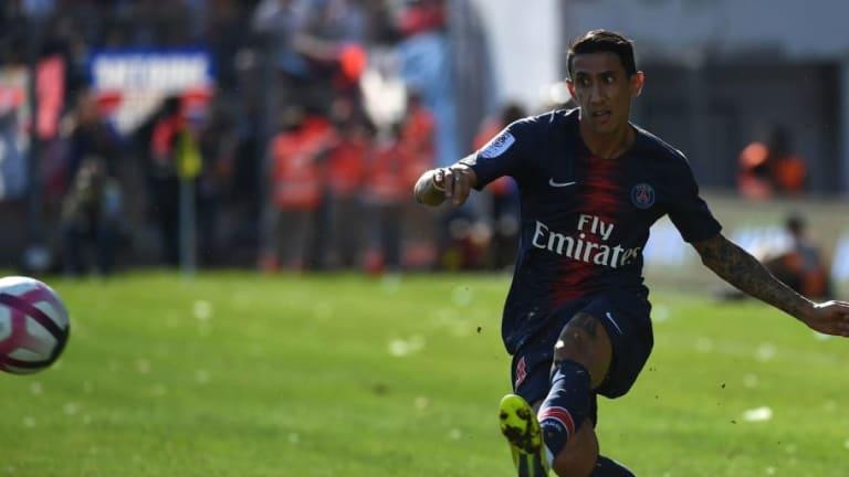 El golazo olímpico de Di María en la victoria del PSG