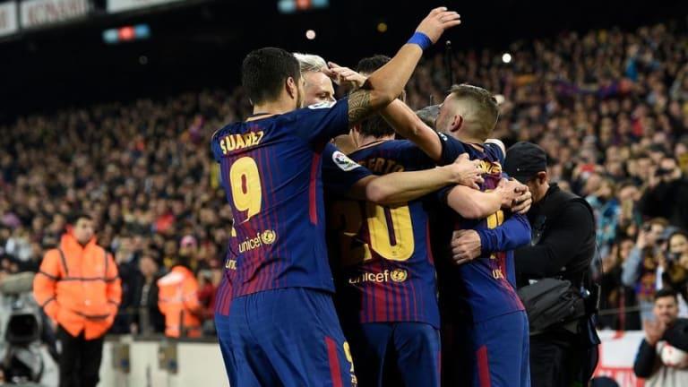 1x1 de los jugadores del FC Barcelona en la victoria ante el Espanyol (2-0)