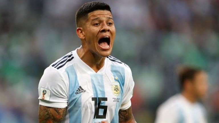TREMENDO | Interrumpieron con gritos un noticiero en vivo por el gol de Rojo