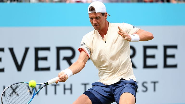 2010 Runner-Up Tomas Berdych Out of Wimbledon With Bad Back