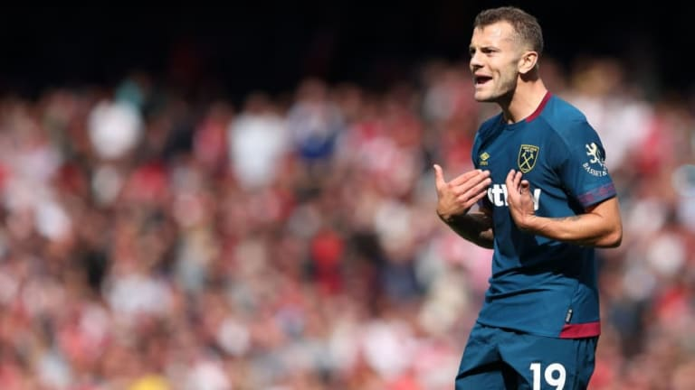West Ham Midfielder Jack Wilshere Ruled Out of Everton Clash After Suffering Injury in Training