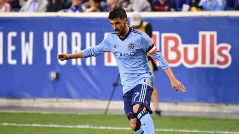 David Villa anunció que no seguirá en el New York City