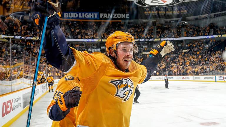 Ryan Johansen Powers Predators Past Lightning