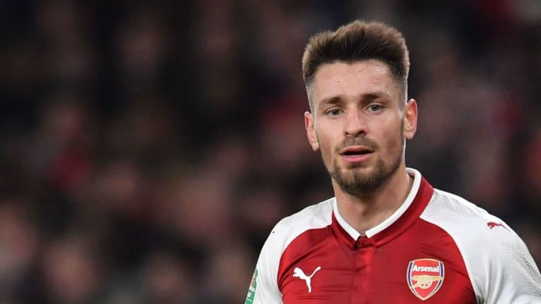 Saint-Etienne Complete Signing of Arsenal Defender Mathieu Debuchy