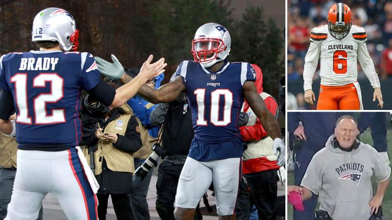 Week 13 Takeaways: Patriots In Control, Baker Mayfield Does His Best Peterman Impression, Lots of Spoilers and Profanity